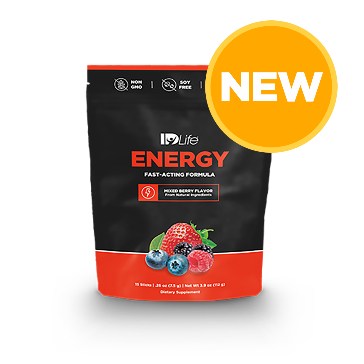 New Re-Mixed Energy 15 Pack - Mixed Berry